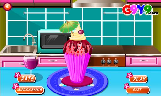 アイスクリーム料理ゲーム