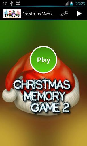 Christmas Memory Game 2
