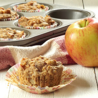 Apple Cider Apple Chunk Muffins