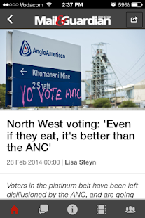 SA Votes - screenshot thumbnail