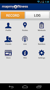 MapMyFitness Workout Trainer - screenshot thumbnail
