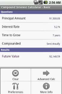 Compound Interest Calculator- screenshot thumbnail
