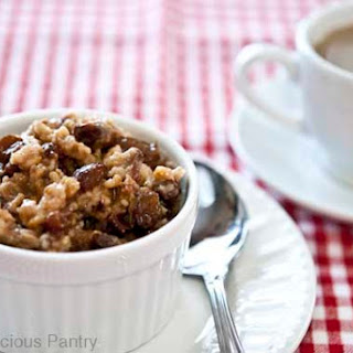 Clean Eating Slow Cooker Overnight Oatmeal.