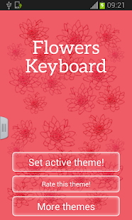 Keyboard Flowers - screenshot thumbnail