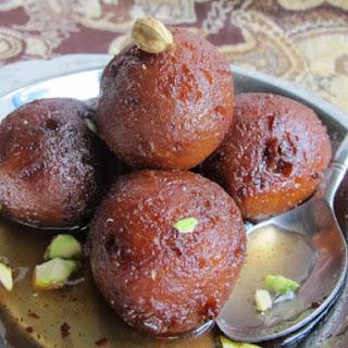 Chocolate Chip Gulab Jamun