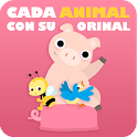 Cada animal con su orinal icon