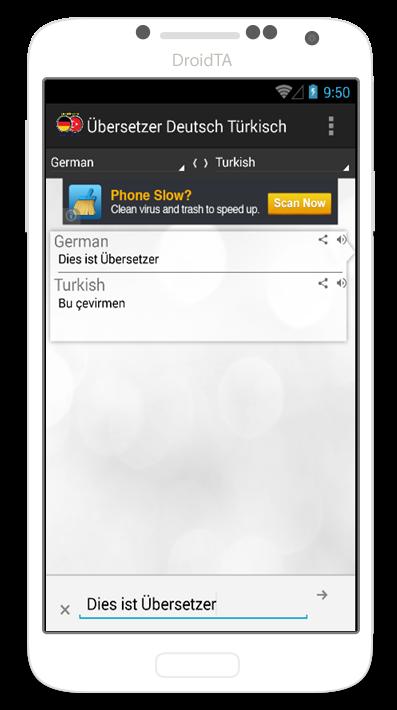 bersetzer deutsch t rkisch android apps on google play. Black Bedroom Furniture Sets. Home Design Ideas