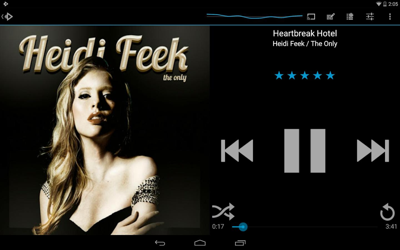 Rocket Player - Music Player - screenshot