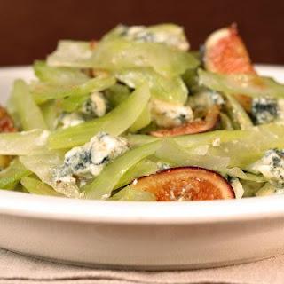 Celery, Fig, and Gorgonzola Salad