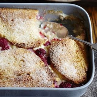 Chocolate And Raspberry Bread And Butter Pudding