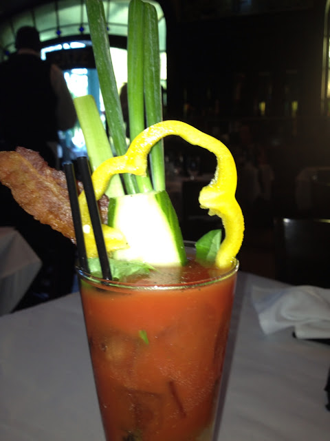 My Bloody Mary creation! So fun!