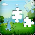 Cartoon Jigsaw Puzzle: iq test