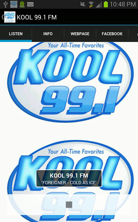 KOOL 99.1 FM KODZ- screenshot