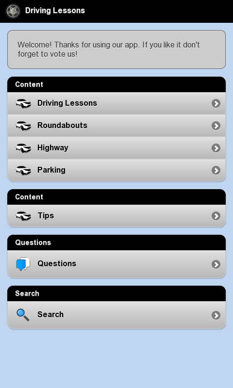 Driving Lessons & Tests- screenshot