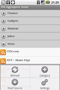 Rss Aggregator screenshot 1