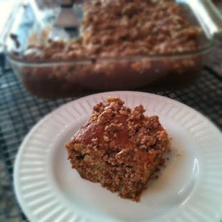 Banana-Maple Coffee Cake