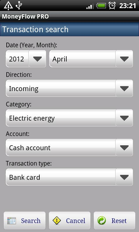 MoneyFlow Expense Manager- screenshot