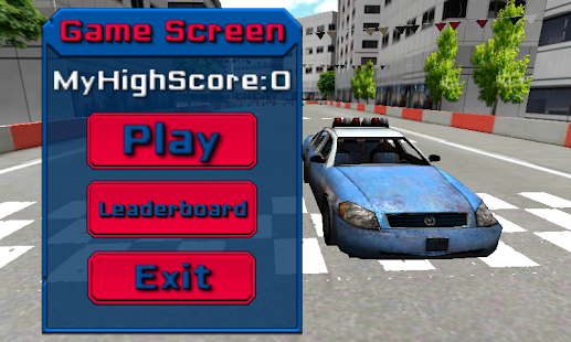 Police Car Parking Simulator Game - Real Life Emergency Driving Test Sim Racing Games on the App Sto
