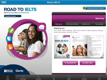 Road to IELTS- screenshot thumbnail