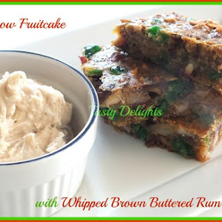 Whipped Brown Butter Rum Frosting