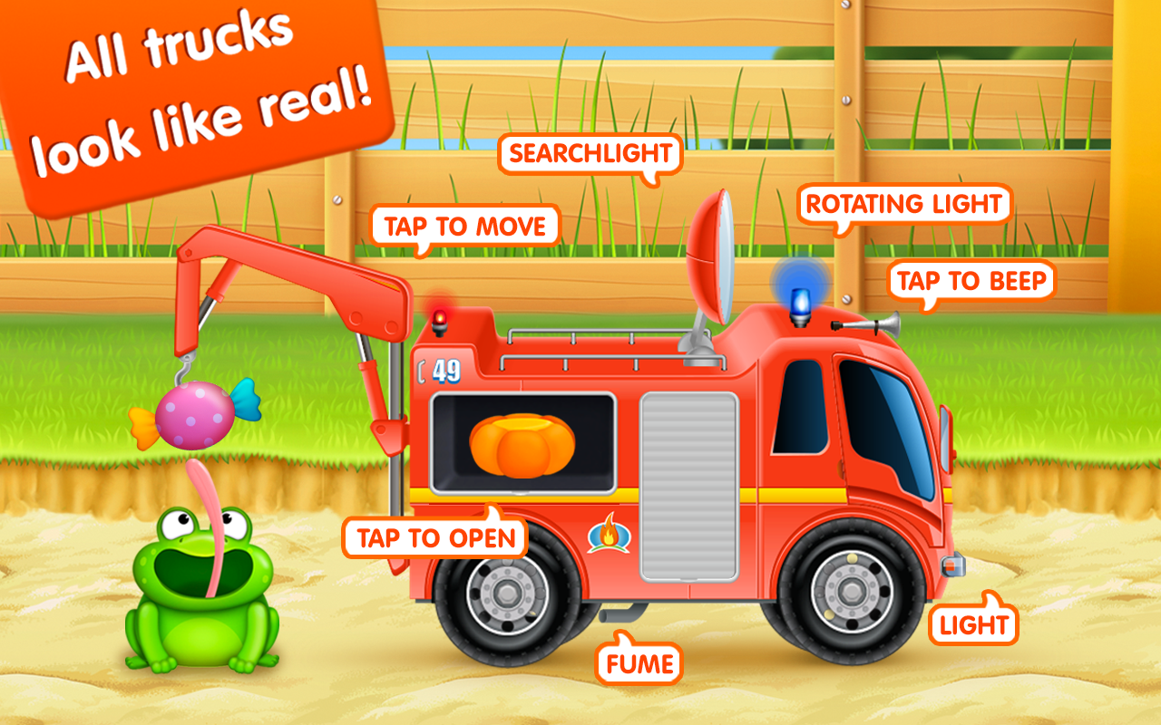 Firetrucks: rescue for kids - screenshot