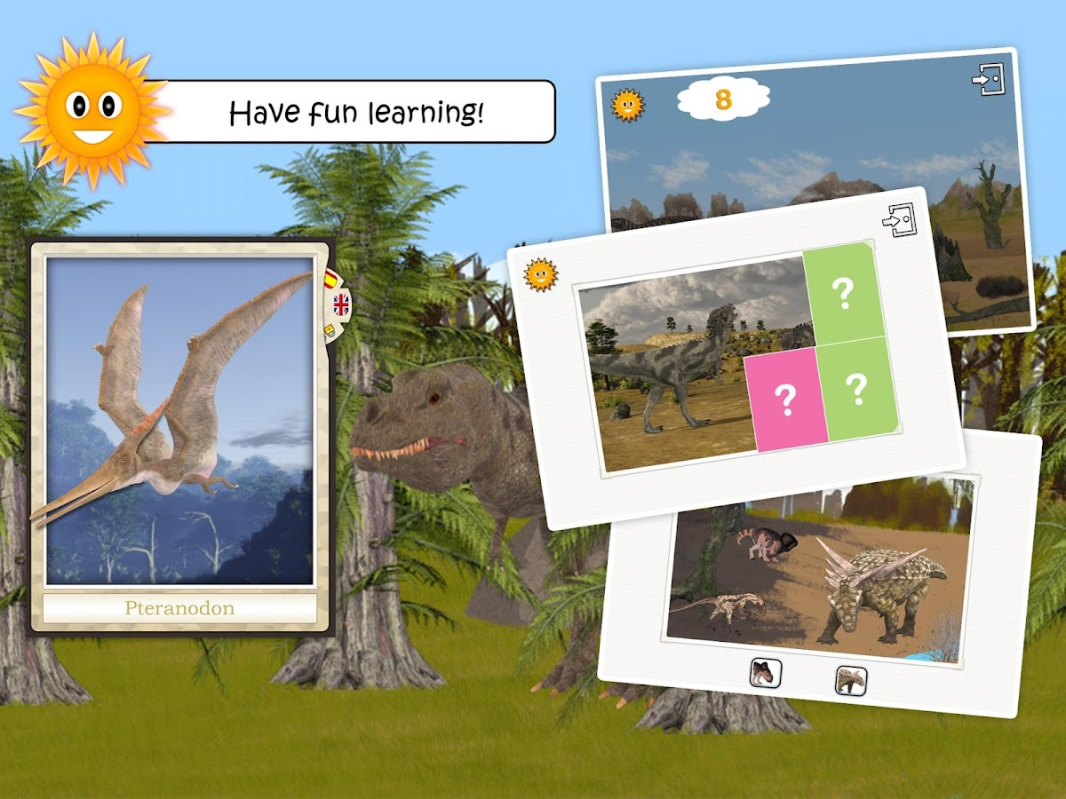 Dinosaurs and Ice Age Animals - Free Game For Kids- screenshot