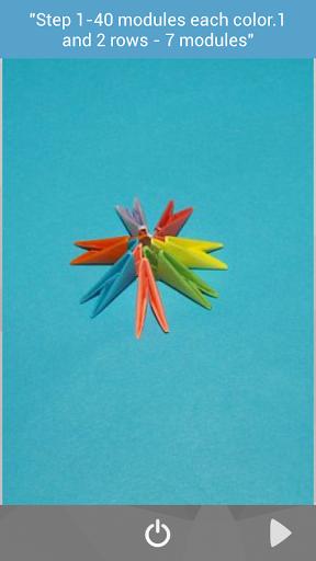 Modular ball origami