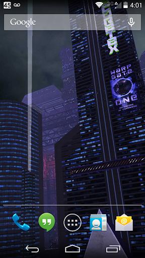 3D LiveWallpaper Dark City Pro