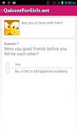 Screenshot of Quizzes For Girls