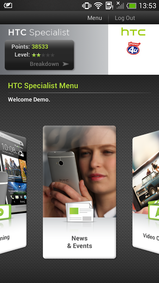 HTC Specialist - screenshot