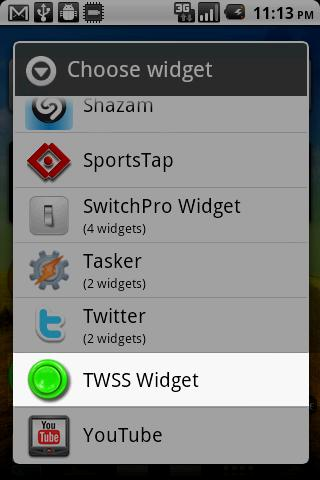 That's What She Said Widget- screenshot