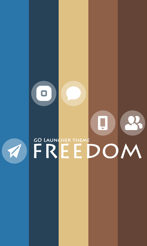 ZFreedom GO Getjar Theme - screenshot