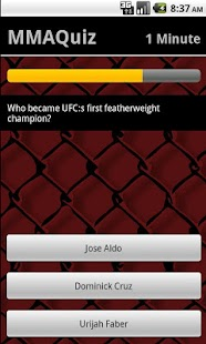 MMA-Quiz - screenshot thumbnail