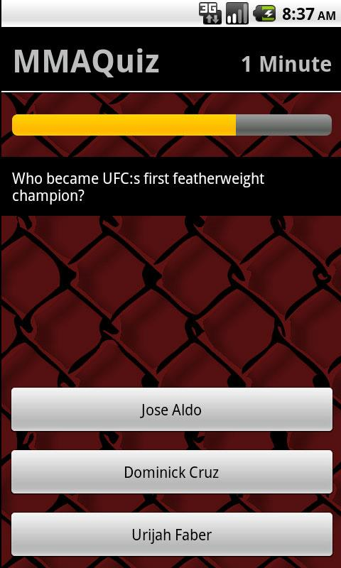 MMA-Quiz- screenshot