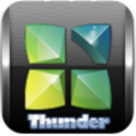 Next Launcher Theme Thunder 3D icon