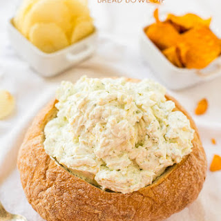 Creamy Ranch and Cheese Bread Bowl Dip