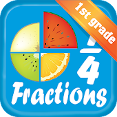 Fraction for 1st grade
