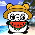 Sleepy Animals Panda Full icon