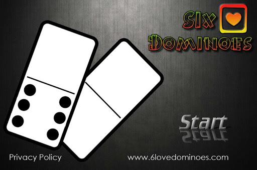 6 Love Dominoes