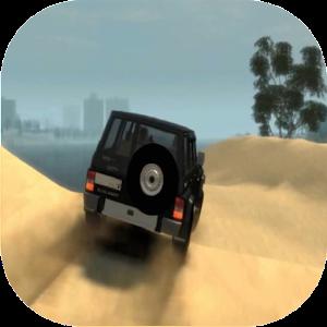 لعبة السباق في الصحراء