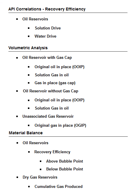 Oil & Gas Calculations- screenshot