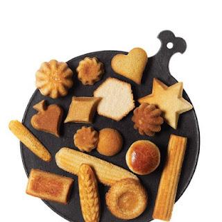 Cornmeal-Honey Madeleines.
