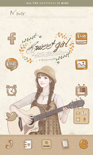 Guitar dodol launcher theme