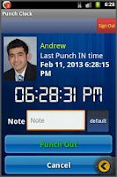 Screenshot of Punch Clock HD