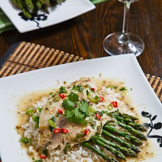Tilapia Baked in Thai Green Curry