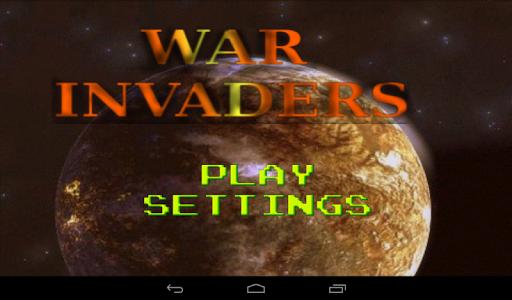 War Invaders - Game