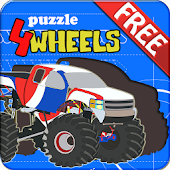Kids Puzzle - 4 Wheels
