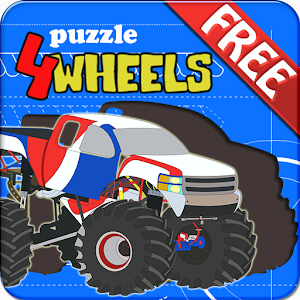 Kids Puzzle – 4 Wheels for PC and MAC