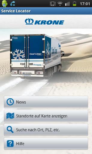 KRONE ServiceLocator App
