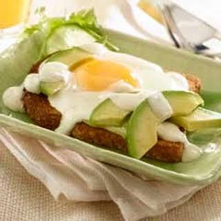 Avocado Breakfast Sandwich Recipes.
